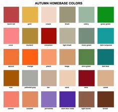 autumn wardrobe colors   Autumn Clothing Colors Colours: soft autumn