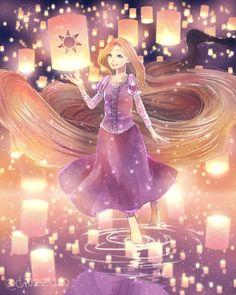 "moonlightsdreaming: ""ラプンツェル """