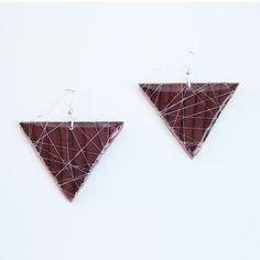 Fab.com   Triangle Earrings Silver Thread