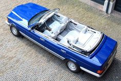 Proving definitively that the Dutch are far cooler than the English, their royal family just restored this custom four-door convertible 1985 Mercedes 380 SEL Caruna to use at their seaside villa in Italy. Mercedes Benz Autos, Super Fast Cars, Daimler Benz, Classic Mercedes, Benz S, Cabriolet, Car Colors, Retro Cars, Luxury Cars