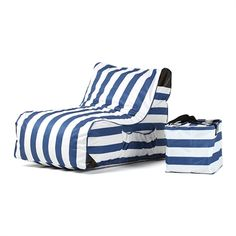 Give a wonderful look to your patio by selecting this amazing OVE Decors Paola Akiko Stripes Sling Outdoor Chaise Lounge. Patio Lounge Chairs, Outdoor Lounge, Outdoor Seating, Outdoor Chairs, Striped Cushions, Pool Furniture, Stripe Print, Decoration, Seat Cushions
