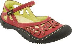 Jambu Blossom women's sandals (Red)