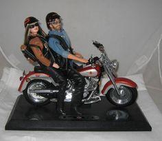 Mattel Barbie Ken Harley Davidson Riding Fat Boy Harley Motorcycle Awesome   eBay