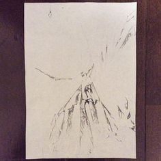 #WORK 014 JAN, 2015 297x210mm #pencil on #paper #abstract #drawing by #Satoshi  [tag] #beauty #simple #blank #space #void #indication #trace #deficiency #shading #foggy #shabby #vintage #patina #minimal #blur #snow #missing #oxidation #stain #空 #間 #余白 #濃淡