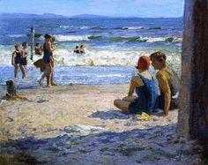 Edward Henry Potthast - Sun and Shade.