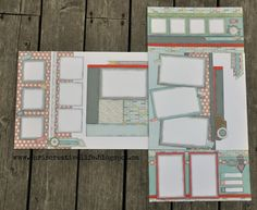 pin 2 of 2.... layout by Chris Robertson using CTMH Zoe paper... (bottom layout with flip flaps open)