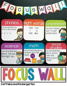 Are you looking for focus wall ideas for your classroom? This is a great way to display daily learning objectives […] Kindergarten Focus Walls, Kindergarten Classroom Decor, Kindergarten Social Studies, First Grade Classroom, Special Education Classroom, Science Classroom, In Kindergarten, Objective Bulletin Board, Objectives Board