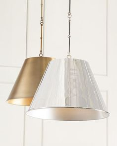 Aiden 1-Light Pendant at Horchow.