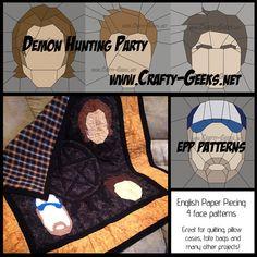 Demon Hunter Party PDF Sewing Patterns