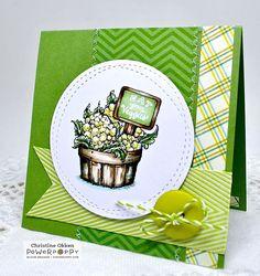 ChristineCreations: Green Veggies