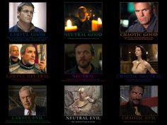 Yes. I am a nerd. (Stargate SG-1 Alignment Chart by ~CheeseDogX on deviantART)
