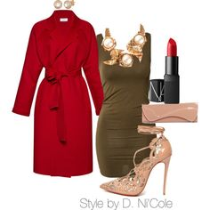 A fashion look from November 2014 featuring mbyM tops, Isa Arfen coats and Christian Louboutin pumps. Browse and shop related looks.