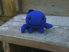 Love this! Crocheted Oswald. Pattern by Allison Hoffman.