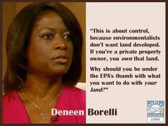 Deneen Borelli ~EPA