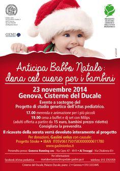 Istituto Giannina Gaslini Idezione locandine, leaflet, cards