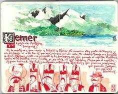 de vuelta con el cuaderno: Cuaderno Muaré (7. Turquía breve)