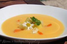 ♥+Máma+v+kuchyni+♥:+Cuketový+krém+s+mrkví+(od+6+měsíců)