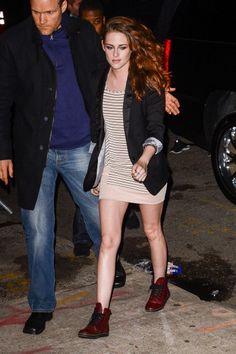 Kristen Stewart. I LOVE HER SHOES!!!