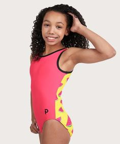 Who doesn't love watermelon? This Flip Side leotard is fresh, fun, and oh-so-sweet! Sink your teeth into your practice in. Gymnastics Skills, Gymnastics Leos, Girls Gymnastics Leotards, Christmas Mom, Christmas Ideas, One In A Melon, Favorite Color, Plum, One Piece