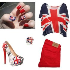 """I <3 British Boys... (ONE DIRECTION)"" by laurendoubleu on Polyvore"