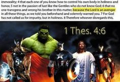 Jesus was an avenger - a reminder to my superhero loving son that God calls us to be holy