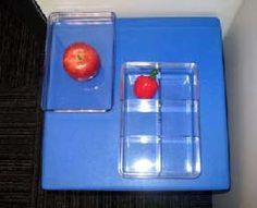 Great activity to teach the Braille alphabet, along with items that start with that letter.  A = apple = top right dot in braille