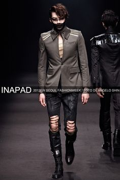 fashion show korean model old pics kim woo bin kim woobin dark concepts = perf