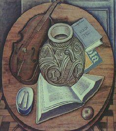 Violon D'Ingres 1969 | Vicente do Rego Monteiro óleo sobre tela 70.00 x 60.00 cm
