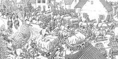 Joe Sacco se mete en las trincheras de la I Guerra Mundial |  El artista publica 'The Great War', un cómic desplegable de 24 hojas | Un documento en el que narra sin palabras la batalla del Somme