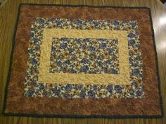 Table runner pansies by granniesraggedybags on Etsy, $25.00