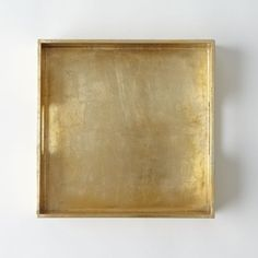 Gold Lacquer Tray- West Elm $24