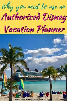 There are so many reasons to use a Disney travel specialist when planning your Disney vacation. A professional, knowledgeable agent can help you Disney On A Budget, Disney Cruise Tips, Disney World Planning, Disney Parks, Walt Disney, Disney World Resorts, Disney Vacations, Disney Travel, Travel With Kids