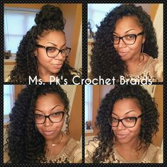 Another Deep Twist Beauty ladies! Six packs of hair used because of the required length. Hair install time is 4.5 hrs. Client hairline is her own natural hairline. The hairline also contributes to this wonderful deep twist install. Hair styled by Ms. Pk.#crochetbraids #mspkscrochetbraids #protectivestyles Ms. Pk's Crochet Braids located in GA