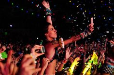 tivity will not solely be the purview of wristbands in the concert of the future. Even the light show will allow for