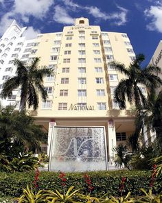 National Hotel, 1677 Collins Avenue, Miami Beach, Florida United States - Click 'n Book Hotels National Hotel Miami Beach, Miami Beach Hotels, Top Hotels, Hotels And Resorts, Best Hotels, South Beach, Miami Art Deco, Miami Life, Island Resort