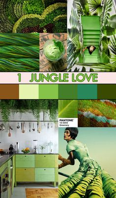 Color Mixing with Greenery, Pantone 2017 Color of the Year