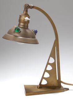 Table Lamp / Wall Sconce, Berlin, c. 1900, Art Nouveau