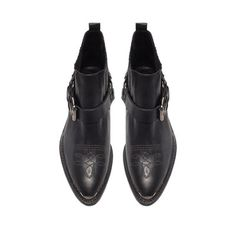 BOTTINES AVEC MOTIF - Bottines - Chaussures - Femme - ZARA France