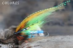 Colores Salmon Tube Fly