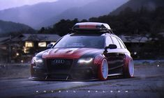BMW/Audi Mashup, Khyzyl Saleem on ArtStation at https://www.artstation.com/artwork/6B8Ar