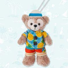 Tokyo Disney Sea, Tokyo Disney Resort, Duffy, Sunnies, Badge, Plush, Teddy Bear, Stuffed Toy, Toys