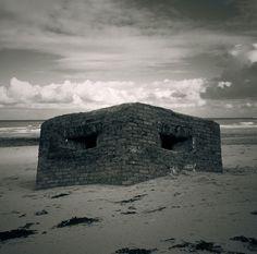 pillbox sunken #eerie #beach #pillbox