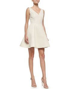49e7086181a3 ERIN erin fetherston Veronica Sleeveless Dress W  Back Bows