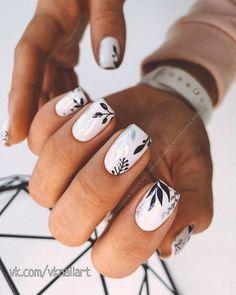 Cute Acrylic Nails, Acrylic Nail Designs, Cute Nails, Gel Nails, Nail Designs Floral, Pastel Nails, Coffin Nails, Nagellack Design, Nagellack Trends