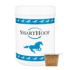 SmartHoof for Horses by SmartPak Equine by SmartPak Equine. $17.95. SmartHoof contains 20 mg of Biotin along with Methionine, Lysine, Threonine, Copper, Zinc, Collagen and other ingredients vital to strong, resilient hooves. As an added bonus, the Flax Seed base provides Omega Fatty Acids for a shiny coat. This formula also includes probiotics to support nutrient absorption and a healthy digestive system. SmartHoof is the smart approach to healthy hooves! ALSO...