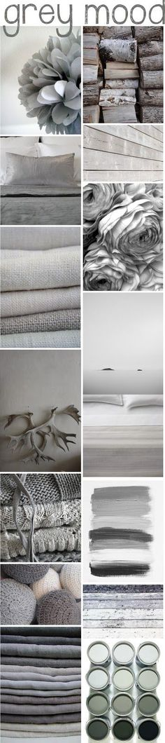 I absolutely love grey - possibly my favourite colour (for clothes too). Re-pinned by rachelwalder.com