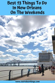 Traveling to New Orleans? Here's your weekend guide to fun events, where to stay, and where to eat in New Orleans! New Orleans Travel Guide, Stuff To Do, Things To Do, Travel Usa, Travel Tips, Visit New Orleans, New Orleans French Quarter, Travel With Kids, Travel Inspiration
