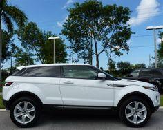 2013 Range Rover Evoque COUPE in Fuji White