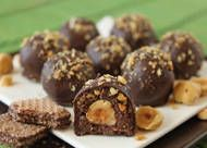 Crispy Nutella Truffles (taste like Ferrero Rocher Chocolates!!)
