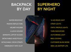 Aster - Worlds safest commute backpack   Indiegogo